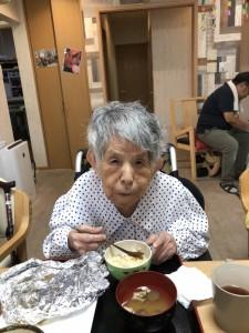 2018.9.5栗御飯と鮭チャンチャン焼_21
