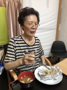2018.9.5栗御飯と鮭チャンチャン焼_19