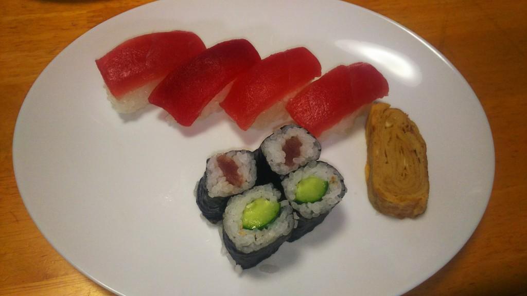 寿司 インサート