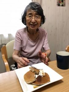 2018.9.15おやつバナナパンケーキ_1