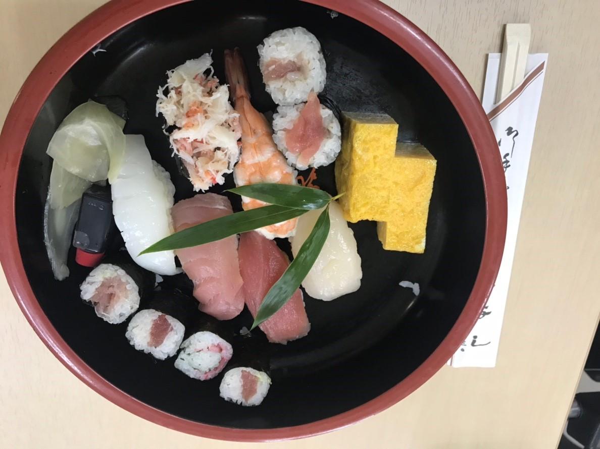 靖国神社 寿司