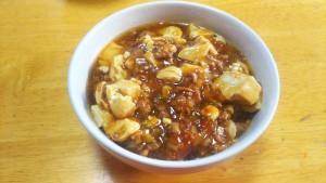 麻婆麺 インサート