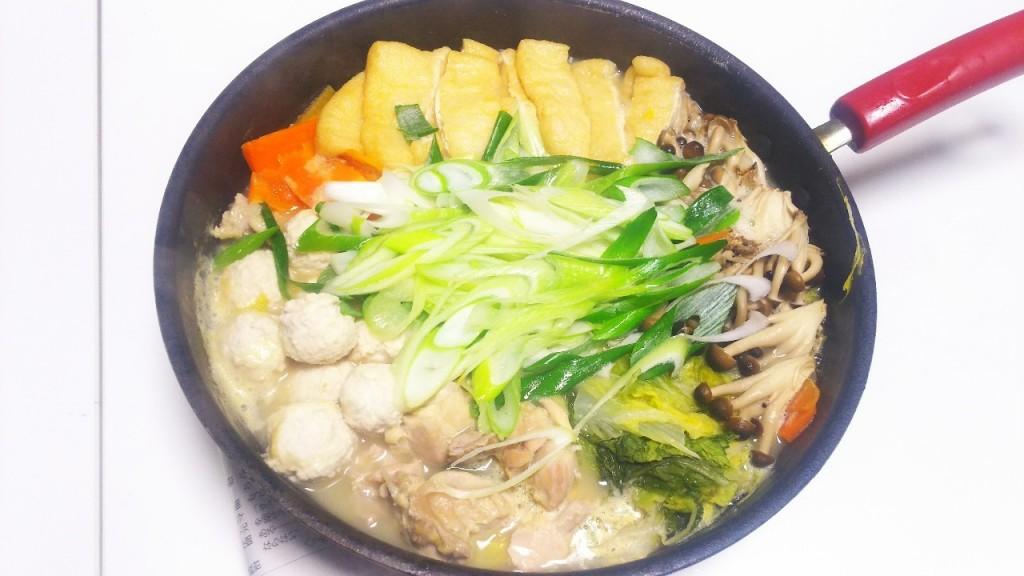 鶏白湯鍋 インサート