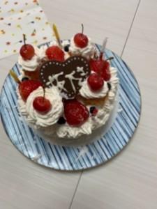 5誕生日ケーキ