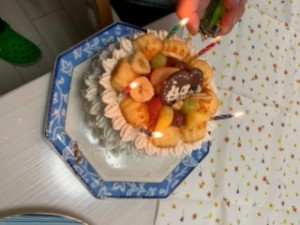 6誕生日ケーキ