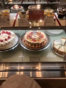 ケーキ見本