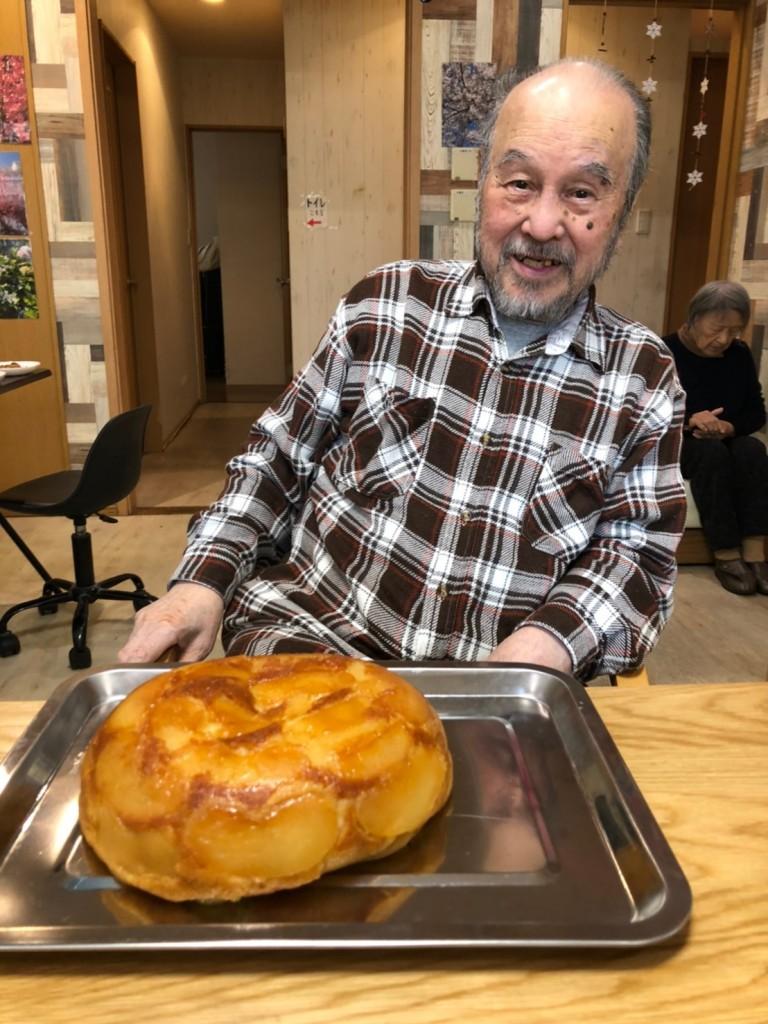 2020.2.19リンゴケーキ作り_200221_0001